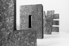 9 för bokstavsförälskelse för samling eleganta modeller fabulerar seamless tema Arkivbilder