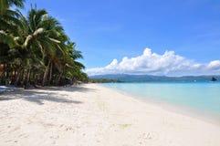 för boracay för strand härlig white sand Royaltyfri Foto