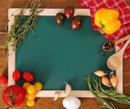 för bräde gröna för livstid grönsaker fortfarande fotografering för bildbyråer