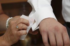 För bröllopceremoni Arkivbild