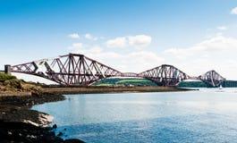 för bro järnväg framåt Royaltyfri Fotografi