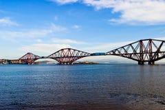 för bro stång framåt Fotografering för Bildbyråer