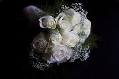 för brudbrudgum för bukett brud- händer Royaltyfri Bild