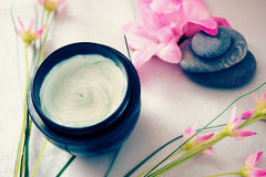 för brunnsortbehandlingar för skönhet avslappnande wellness Royaltyfri Fotografi