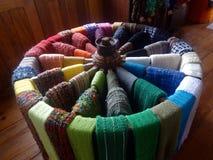 ³ för cachecà för Casada-tecelagem är Royaltyfri Fotografi