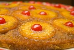 för cake översida ner Royaltyfri Bild