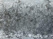 För cementvägg för gammal grov grunge skadad grå textur arkivfoto