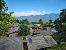 För Chiangmai†för ‹för of†för ‹för area†för ‹för in†för ‹för village†för ‹för A†‹small†förorts- Thailand†‹‹, royaltyfri foto