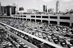 för chit mo-parkering mycket Arkivbilder