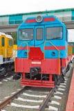 För ChME 2 för diesel- lokomotiv Czechoslovak shunting diesel- locomo — Arkivbilder