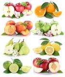 För citronnektarinen för äpplet bär frukt ny frukt c för orange apelsiner för äpplen Royaltyfria Bilder
