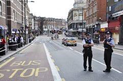 för claphamföreningspunkt för 09 område august london sacke Arkivfoton