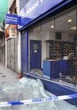 för claphamföreningspunkt för 09 område august london sacke Arkivbild