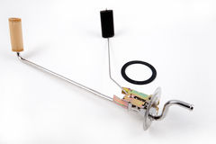 för clippingkopplingen för bilen isolerade den automatiska motorn delbanawhite Royaltyfri Bild