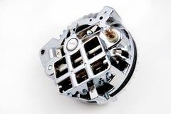 för clippingkopplingen för bilen isolerade den automatiska motorn delbanawhite Royaltyfri Foto
