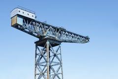 För Clyde för floden för skeppsbyggerikonsolkranen fartyg byggnad sänder för Glasgow Greenock för skeppsdockaskeppsvarvport H för Royaltyfria Bilder