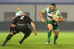 för connachtliga för benetton celtic rugby vs Royaltyfri Fotografi