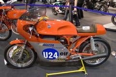 för corsaipotesi för agusta 350 tävlings- motorbike millivolt Arkivfoto
