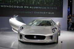 för cx-jaguar för 75 bil sport Arkivfoto