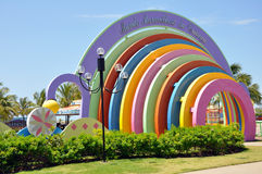för da-maravilhoso för aracaju offentlig crian park för mundo royaltyfri foto