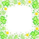 För dagferie för St Patricks ram Royaltyfri Bild