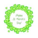 För dagferie för St Patricks ram Arkivbild