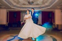 för dansmodell för abstrakt begrepp 3d bröllop Arkivfoto