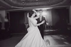 för dansmodell för abstrakt begrepp 3d bröllop Arkivbild