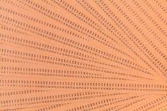 För datorstansmaskin för tappning oanvända kort Arkivbilder