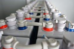 För DC-batteri för industriell makt elektriska ackumulatorer royaltyfri bild
