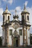 för de francisco för assis kyrklig sao för preto ouro Royaltyfria Foton