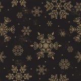 För december för vinter för sömlöst väder för modell för snöflingavektor traditionell bakgrund för jul för papper inpackning royaltyfri illustrationer
