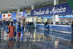för delmexico för central stad terminal norte Fotografering för Bildbyråer
