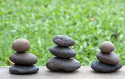 för delsträdgård för blance bruna f stenar royaltyfria bilder