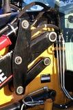 för delsystem för byggnad component hydrauliska tekniker Royaltyfri Fotografi