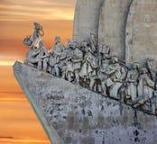 för den lisbon för 500 var 1960 för årsdagcaravelberömmar upptäckter för död henryen invigde navigatör portugal som monumentet fo Royaltyfria Foton
