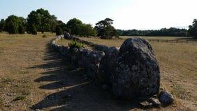 för denmark för ålderjordfästningkammare högsta sten viking för lokal allvarlig mols arkivfoto