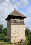 för densussten för klocka kyrkligt torn Royaltyfri Bild