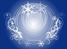 för designdiagram för bakgrund dekorativ vektor för snowflakes för illustration Arkivfoton