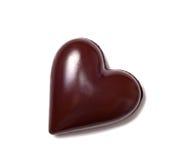 för designdiagrammet för choklad 3d illustrationen för hjärta framförde Royaltyfria Bilder