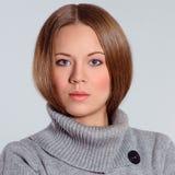 för designelement för skönhet coloful illustration för flicka för framsida Arkivfoto