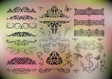 för designelement för samling 3d vektor för kvalitet för symboler hög Royaltyfri Bild