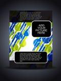 för designreklamblad för räkning idérik presentation Royaltyfri Bild