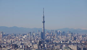 för det tokyo för den 634 avvärjer den lokaliserade räkneverk skysumidaen tv:n för treen tornet royaltyfri foto