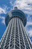 för det tokyo för den 634 avvärjer den lokaliserade räkneverk skysumidaen tv:n för treen tornet Royaltyfri Bild