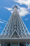för det tokyo för den 634 avvärjer den lokaliserade räkneverk skysumidaen tv:n för treen tornet Royaltyfria Bilder