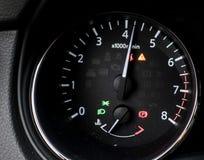 För detaljmotor för bil inre hastighet Arkivbild