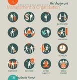 För dig design Ledning personalresurser, marknadsföring stock illustrationer