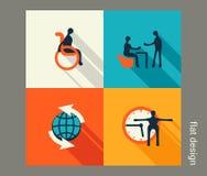 För dig design Sjukvård medicin, diagnostik Plan desig stock illustrationer