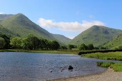 För Dodd för Caudale huvud mellersta vatten Cumbria bröder royaltyfri bild